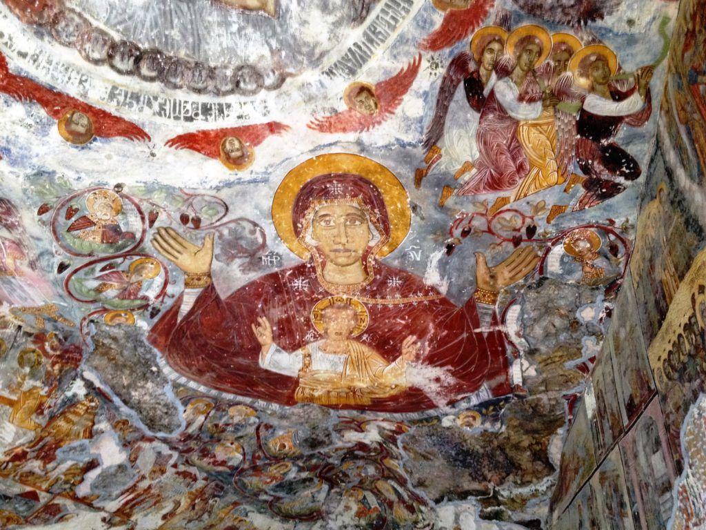 Sümela Manastırı detaylar